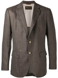 Loro Piana Madrid Blazer Brown