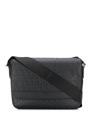 Salvatore Ferragamo Embossed Gancini Messenger Bag 60