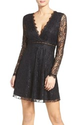 Nsr Women's Lace Skater Dress