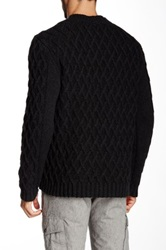 Autumn Cashmere Chunky Twisted Cable Sweater Gray