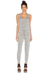 Riller And Fount Ali Sleeveless Jumpsuit Light Gray