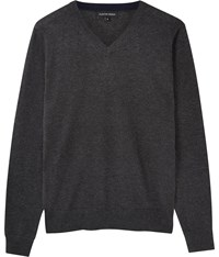 Austin Reed Merino Charcoal V Neck Jumper