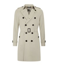 Burberry London The Sandringham Long Heritage Trench Coat Male