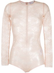 Red Valentino Lace Bodysuit 60