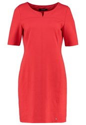 Taifun Jersey Dress Hibiscus Red