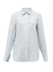 Max Mara Weekend Francis Shirt Blue White