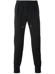 Paul Smith Drawstring Track Pants Black