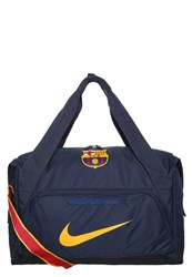 Nike Performance Allegiance Barcelona Sports Bag Midnight Navy University Gold Dark Blue