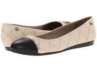 Lifestride Nixon Soft Nude Women's Dress Flat Shoes Beige