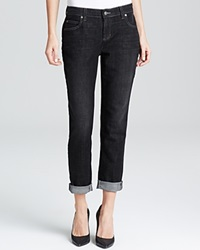 Eileen Fisher Boyfriend Jeans In Vintage Black