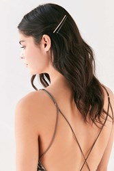 Urban Outfitters Slide Hair Pin Set Silver