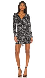 Likely Corinne Dress In Black. Black And White