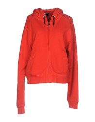 Just Cavalli Sweatshirts Red