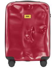 Crash Baggage 40L 4 Wheel Icon Cabin Carry On Trolley Red
