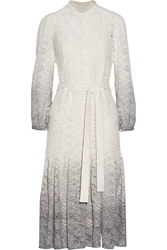 Burberry Degrade Stretch Lace Dress
