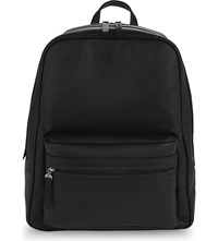 Maison Martin Margiela Grained Leather Backpack Black