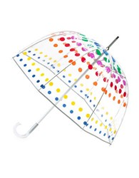 Totes Clear Bubble Umbrella Multi Color