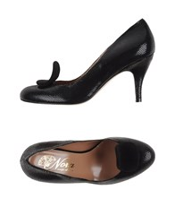Nora Footwear Courts Women Black