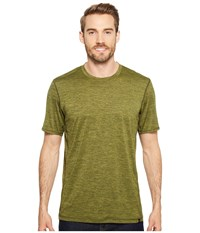 Prana Hardesty T Shirt Fern Green Stripe T Shirt