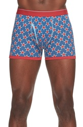 The Rail 'Stars' Boxer Briefs Blue Red