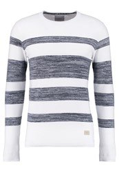 Minimum Banbury Jumper Medium Blue White