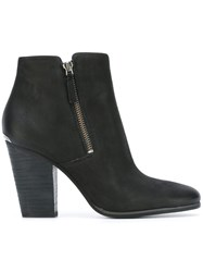 Michael Michael Kors Zip Up Ankle Boots Black