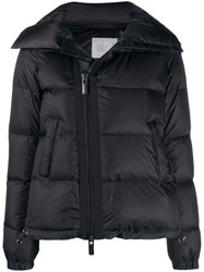 Sacai Puffer Jacket Black
