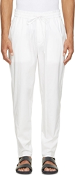 3.1 Phillip Lim White Poplin Lounge Pants
