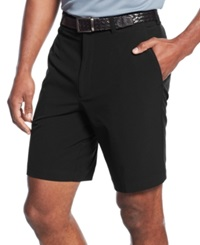 Cutter And Buck Big And Tall Drytec Flat Front Shorts Black