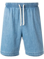 Universal Works Beach Shorts Blue