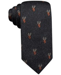 Tasso Elba Stag Novelty Tie Only At Macy's Navy