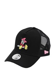 New Era Disney Cotton And Mesh Baseball Hat Black