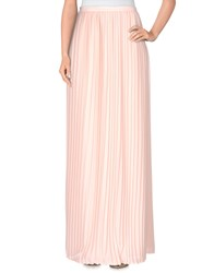 Empathie Skirts Long Skirts Women Light Pink