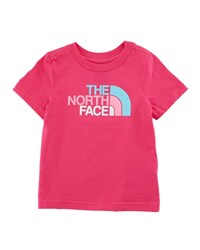 The North Face Short Sleeve Logo Graphic Tee Pink