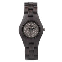 Wewood Moon Crystal Watch Black