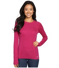 Smartwool Phd Light Long Sleeve Top Berry Women's Long Sleeve Pullover Burgundy