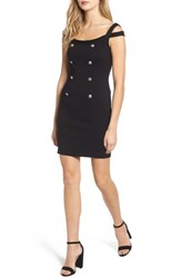 Bailey 44 Commissar Ponte Body Con Dress Black