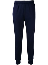 Lacoste Elasticated Waist Trousers Blue