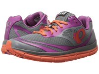Pearl Izumi Em Road N2 V3 Monument Clementine Women's Running Shoes Gray