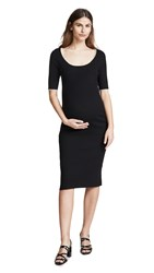 Hatch The Celine Dress Black Ivory
