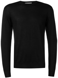 Cruciani Round Neck Jumper Black