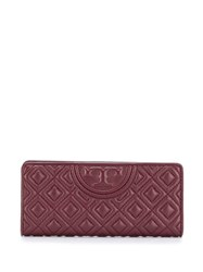 Tory Burch Diamond Quilt Wallet Red