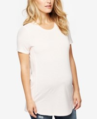 A Pea In The Pod Maternity T Shirt Whisper Pink