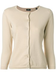 Aspesi Classic Cardigan Nude And Neutrals