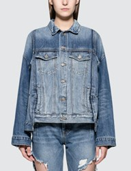 Sjyp Pocket Detailed Denim Jacket