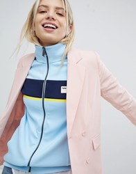 Pull And Bear Pullandbear Co Ord Tailored Double Breast Blazer Pink