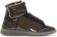 Maison Martin Margiela Grey Transparent Future High Top Sneakers