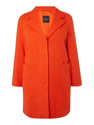 Persona Oversize Pocket Wool Coat Coral