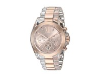 Michael Kors Mk6358 Bradshaw Rose Gold Clear Watches