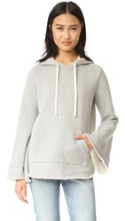 Clu Hoodie Sweatshirt Heather Grey